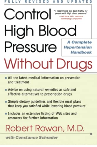 9780684873282: Control High Blood Pressure Without Drugs: A Complete Hypertension Handbook