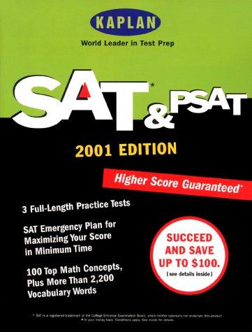 9780684873336: Kaplan SAT & PSAT 2001 (Sat & Psat (Kaplan), 2001)