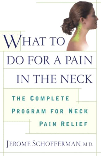 What to do for a Pain in: Jerome Schofferman