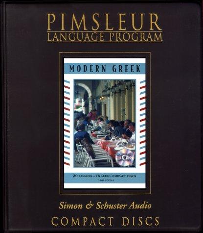 9780684874296: Greek (Modern) - 2nd Ed. (Pimsleur Language Program)