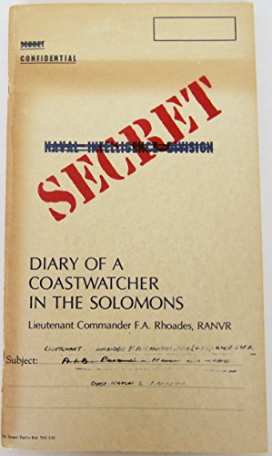 9780685092569: Diary of a Coastwatcher in the Solomons
