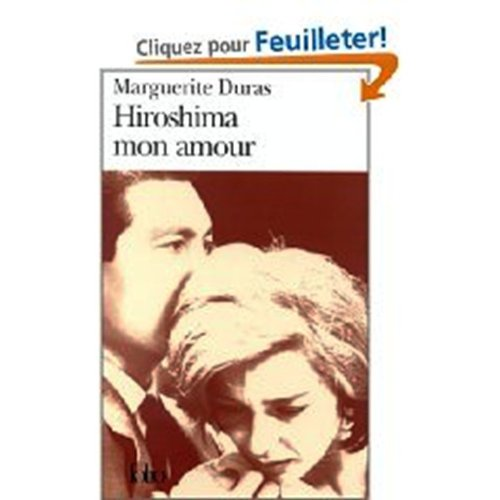 9780685112328: Hiroshima Mon Amour (French Edition)