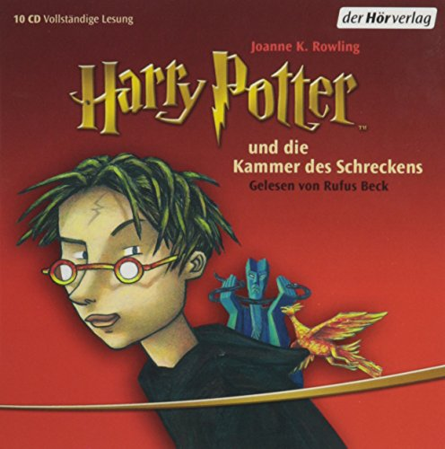 "Harry Potter und die Kammer des Schreckens (German Audio CD (10 Compact Discs) Edition of ""Harry Potter and the Chamber of Secrets"") (9780685114056) by J.K. Rowling"