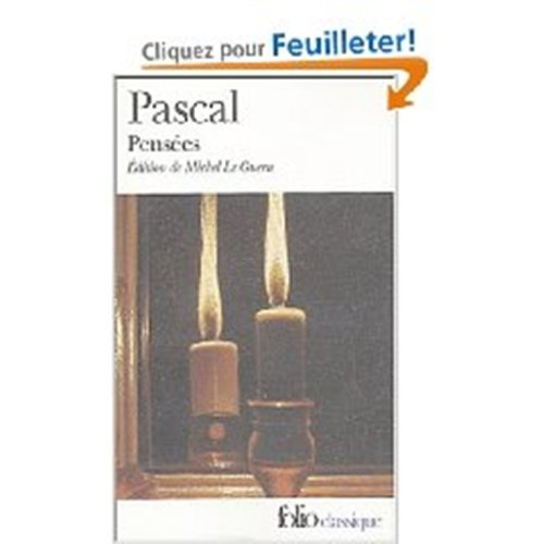 9780685114858: Pensees (in French) (French Edition)