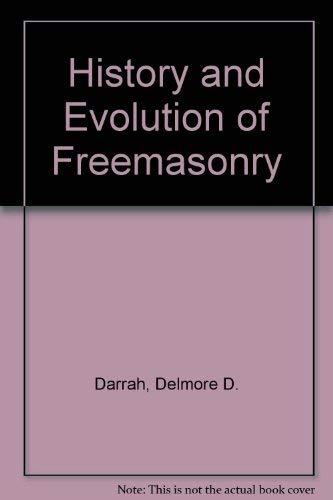 9780685194799: History and Evolution of Freemasonry
