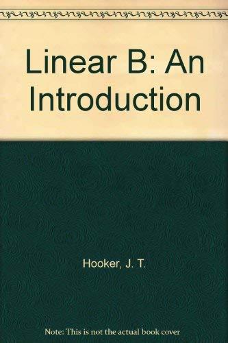 9780685200391: Linear B: An Introduction