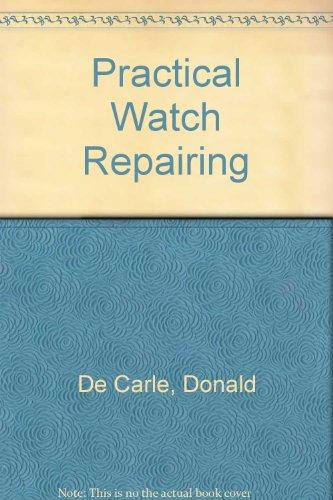 9780685220788: Practical Watch Repairing