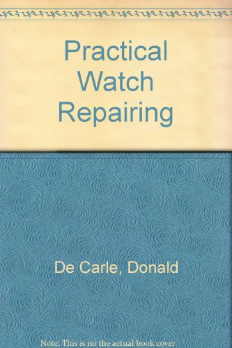 9780685220788: Practical Watch Repairing