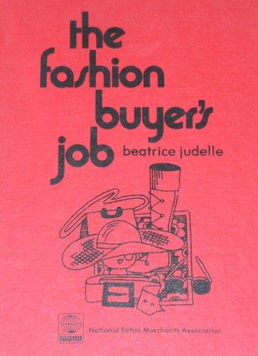 9780685246719: The Fashion Buyer's Job