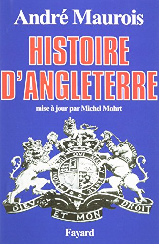 9780685369388: Histoire d'Angleterre