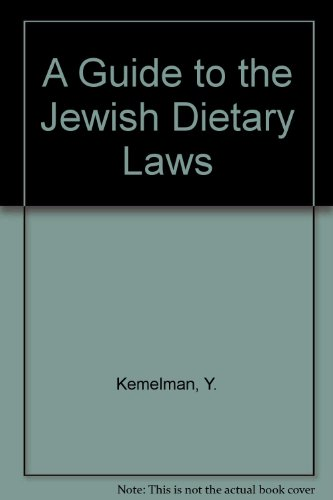 9780685404454: A Guide to the Jewish Dietary Laws