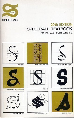 9780685567685: Speedball Textbook for Pen and Brush Lettering