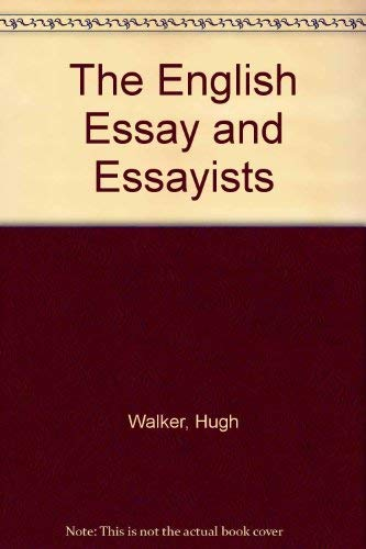 9780685571590: The English Essay and Essayists
