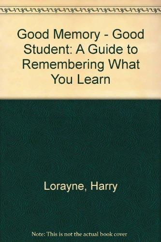 9780685660652: Good Memory-Good Student