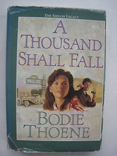9780685663400: A THOUSAND SHALL FALL (G. K. HALL (LARGE PRINT))
