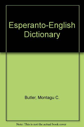 9780685716014: Esperanto-English Dictionary