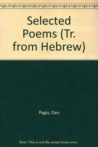 9780685900314: Selected Poems (Tr. from Hebrew)