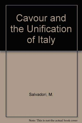9780685910597: Cavour and the Unification of Italy