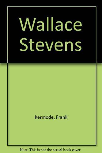 9780685996218: Wallace Stevens