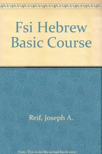9780686107309: Fsi Hebrew Basic Course