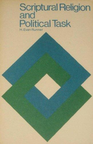 9780686119890: Scriptural Religion and Political Task