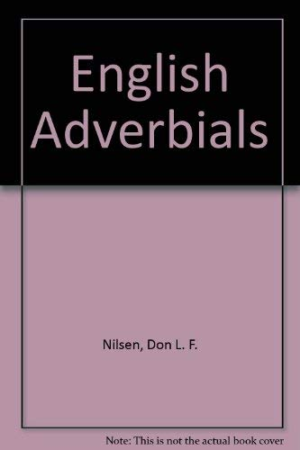 9780686225355: English Adverbials