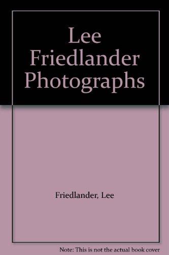 Lee Friedlander: Photographs: Friedlander, Lee