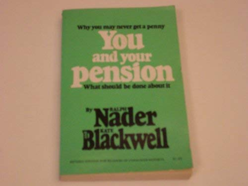 9780686365464: You and Your Pension