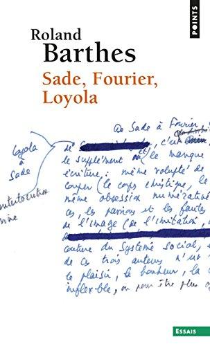 9780686539414: Sade, Fourier, Loyola