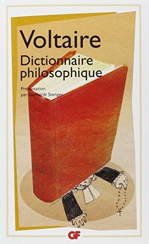 Dictionnaire Philosophique (French Edition): Voltaire