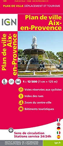 9780686564133: Aix-en-Provence (France) City Map (French Edition)