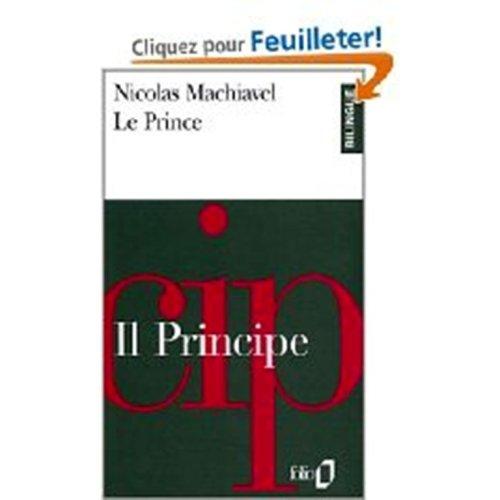 9780686565352: Le Prince: Il Principe (bilingual edition in French and Italian) (French and Italian Edition)