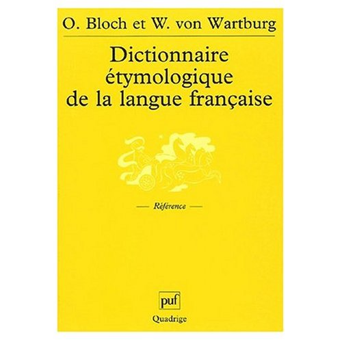 9780686572930: Dictionnaire Etymologique de la Langue Francaise (French Edition)