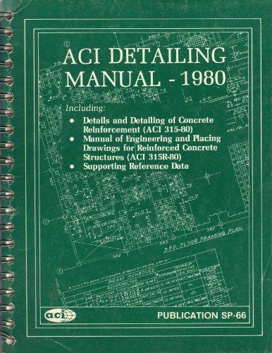 9780686700739: Aci Detailing Manual: 1980