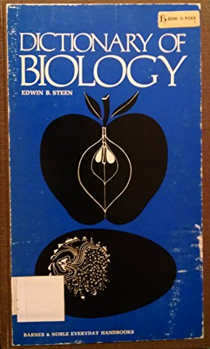 9780686835462: Dictionary of Biology