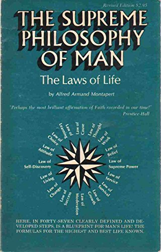 9780686857280: Supreme Philosophy of Man: The Laws of Life