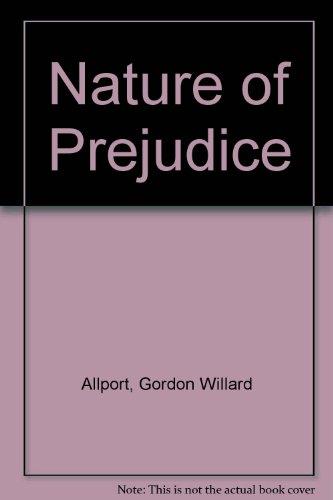 9780686950073: Nature of Prejudice