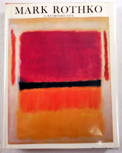 9780686968788: Mark Rothko, 1903 to 1970: A Retrospective