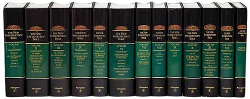 9780687002313: New Interpreter's Bible 12 Volume Set Plus the Index