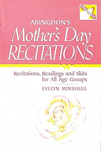 9780687004867: Abingdon's Mothers Day Recitations