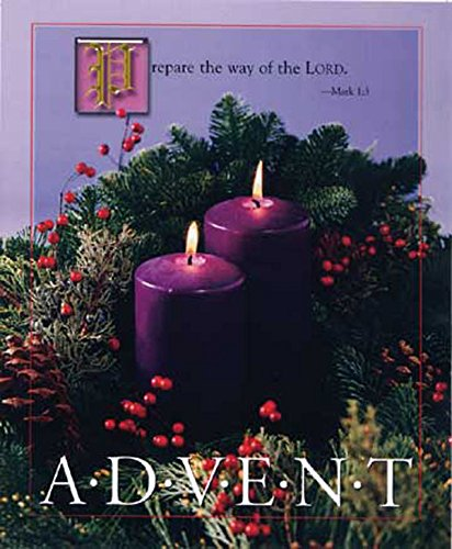 Advent - 2nd Sunday, Purple, Large Bulletin: Bernice Wells Carlson