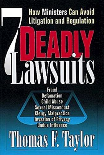 9780687008223: Seven Deadly Lawsuits: How Ministers Can Avoid Litigation and Regulation