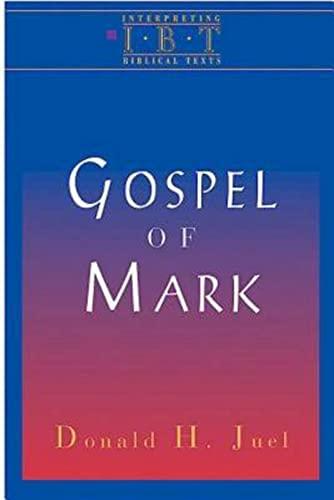9780687008490: The Gospel of Mark: Interpreting Biblical Texts Series