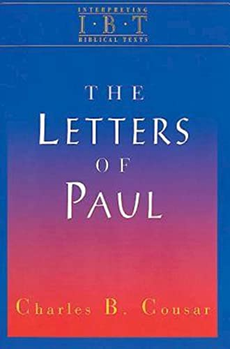9780687008520: The Letters of Paul: Interpreting Biblical Texts Series