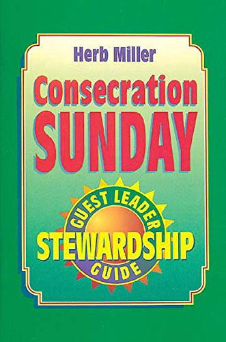 9780687009237: Consecration Sunday Stewardship Program Guest Leaders Guide