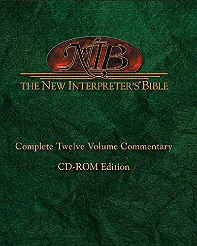 9780687019991: New Interpreter's Bible: Complete Twelve Volume Commentary CD-ROM (New Interpreters Bible Commentaries)
