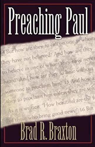 9780687021444: Preaching Paul