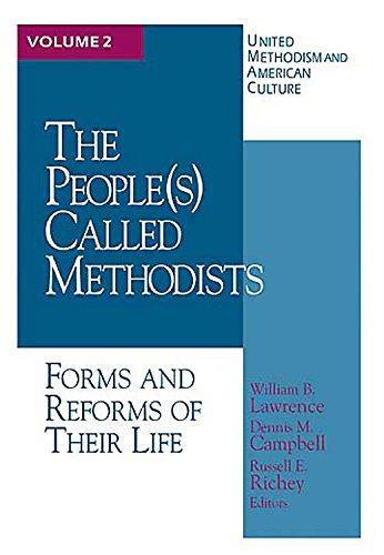 9780687021994: United Methodism American Culture Volume 2: The People Called Methodist (v. 2)