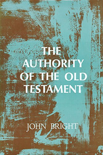 9780687022915: The Authority of the Old Testament