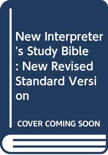 9780687022953: New Interpreter's Study Bible: New Revised Standard Version